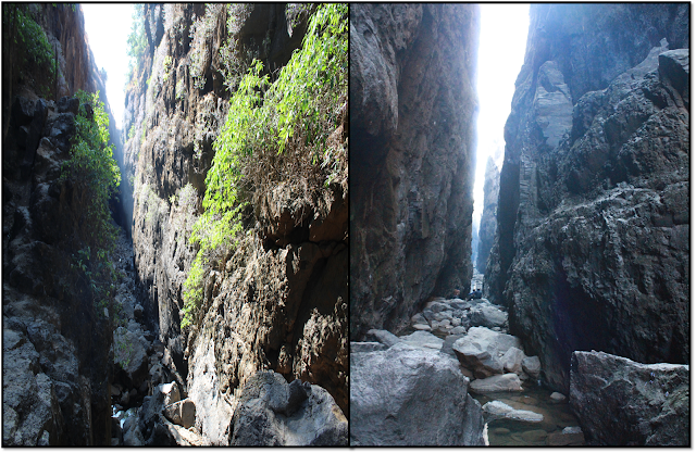 Sandhan valley,narrow trail of valley