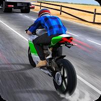 Jogo de corrida de moto com gráficos incríveis