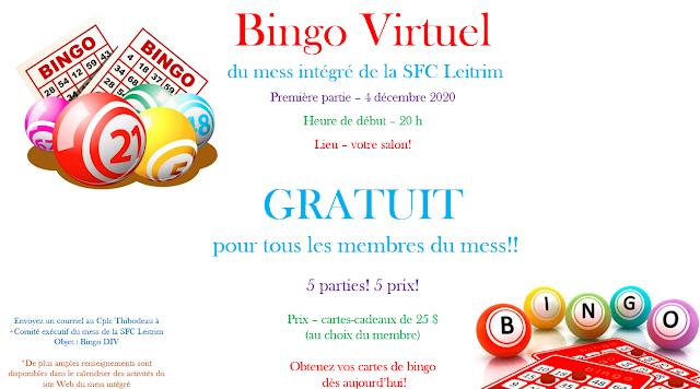 Bingo Virtuel - Francais
