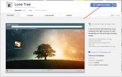Cara Mengganti Tampilan Tema Google Chrome 9