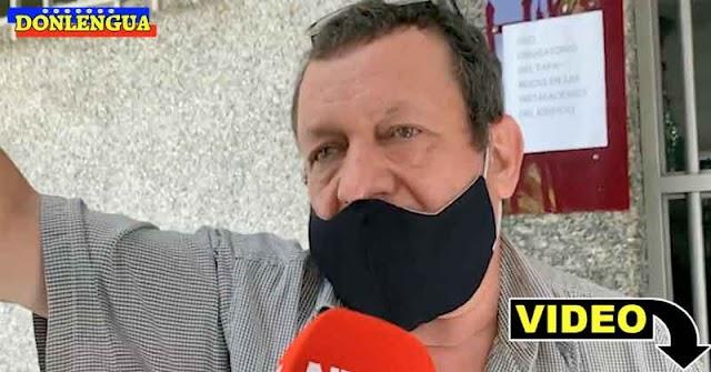 Entrevista al esposo de la señora que murió en El Paraíso durante el tiroteo del Coqui