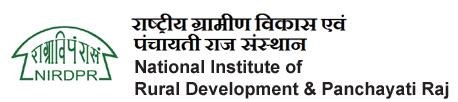 NIRDP, Hyderabad Recruitment 2019