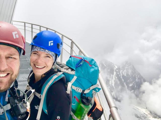 Janiina Ojanen Heikki Kauppinen Mont Blanc