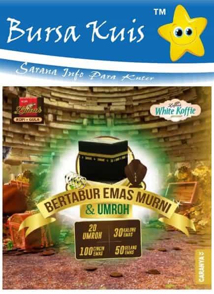 Kuis Undian Luwak White Coffee Periode IV Berhadiah Logam Mulia dan Paket Perjalanan Umroh Gratis