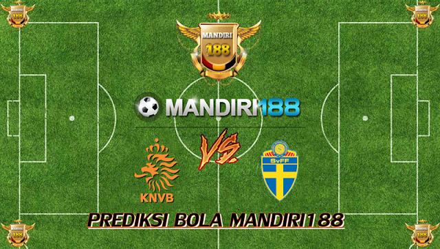 AGEN BOLA - Prediksi Belanda vs Swedia 11 Oktober 2017