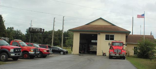 Cuartel de bomberos en Inglis