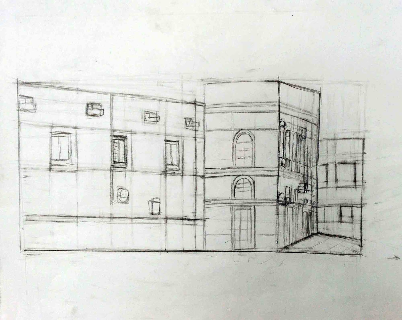 Colegio San José Dominicas: Colegio San José Dominicas: Dibujo Al Natural