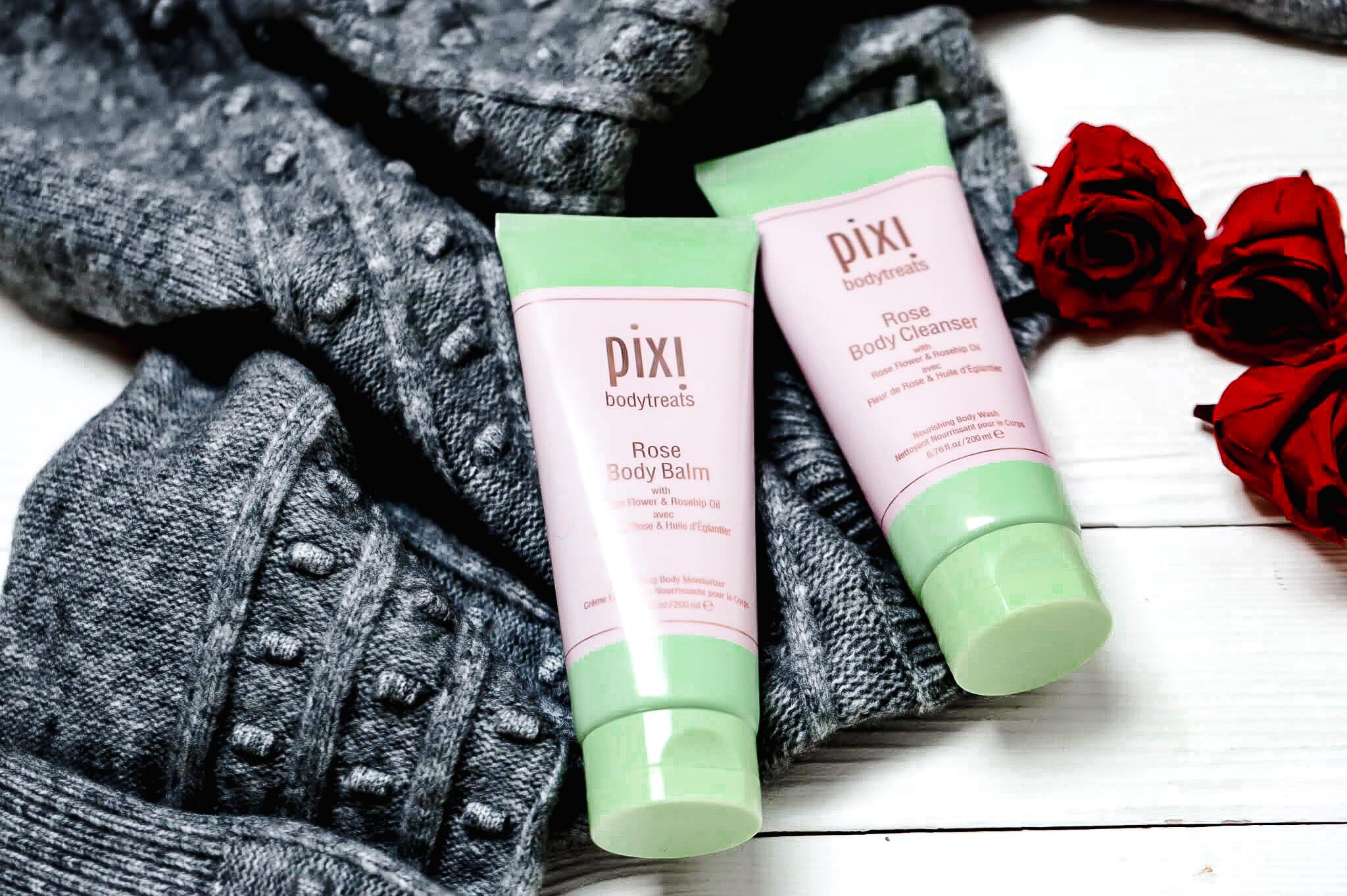 Pixi Rose Crème Corps et Gel Douche