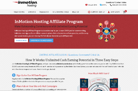 inmotion hosting affiliate programs