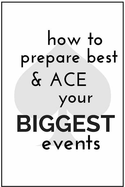 Big event soon? Interview, presentation, big party? To make it go smashingly well, follow this plan the night before to stay on your game and be extra alert and sharp to make your big day a surmountable success!