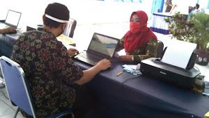 Istri Bupati Apresiasi PPDB di SMPN 2 Pemalang