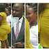 BEAUTIFUL LADY WITH HUGE BACKSIDE CONFUSES  PASTOR IN CHURCH AS HE GIVES HER A GIFT - PHOTOS