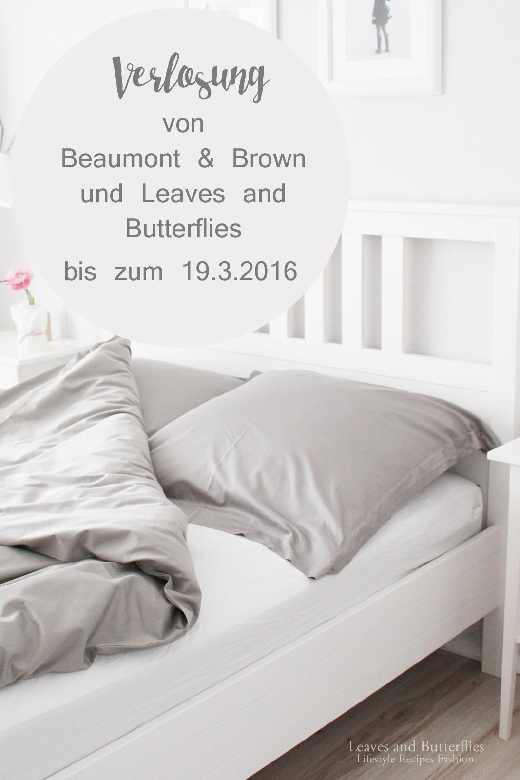 Leaves and butterflies: wunderschöne neue bettwäsche und verlosung ...