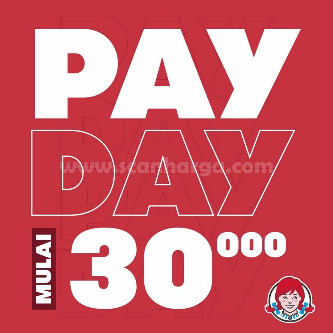 Promo WENDYS PAYDAY - Harga Spesial mulai dari Rp. 30.000