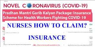 Pradhan Mantri Garib Kalyan Insurance Package for Nurses
