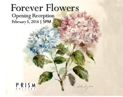 """Forever Flowers"" at the Prism Gallery"