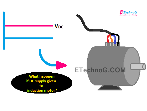 dc supply to induction motor