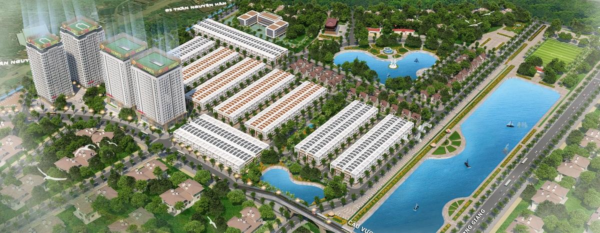 Quần thể dự án Chung Cư Green City Bắc Giang