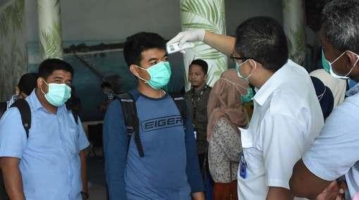 Penumpang Pesawat Wajib, Lalui Pemeriksaan Suhu Tubuh Di Bandara H. Aroepala Selayar