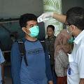 Penumpang Pesawat Wajib Lalui Pemeriksaan Suhu Tubuh Di Bandara H. Aroepala Selayar