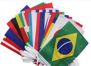 Bar Party Decorations, 2018 FIFA World Cup, Top 32 String Flag Banners
