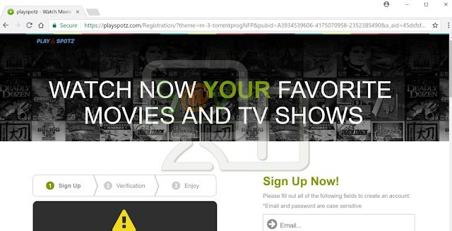 Playspotz.com pop-ups