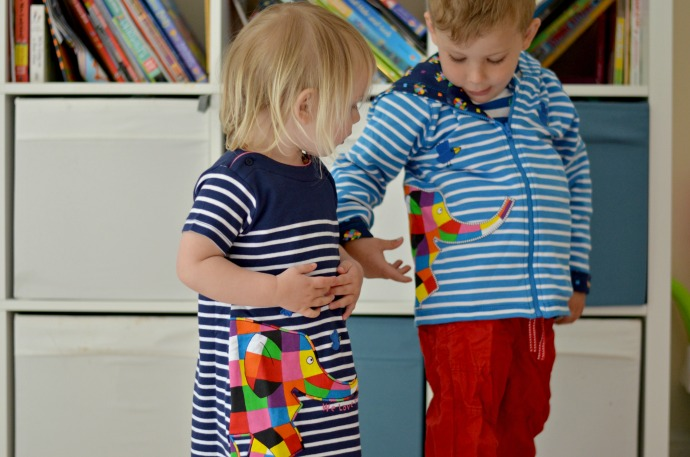 Elmer Jojo Maman Bebe, Elmer kids clothing, themummyadventure.com