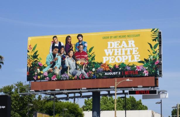 Dear White People season 3 billboard
