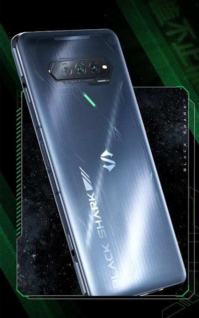 تم الكشف عن تصميم هاتف Xiaomi Black Shark 4S ومواصفات العرض