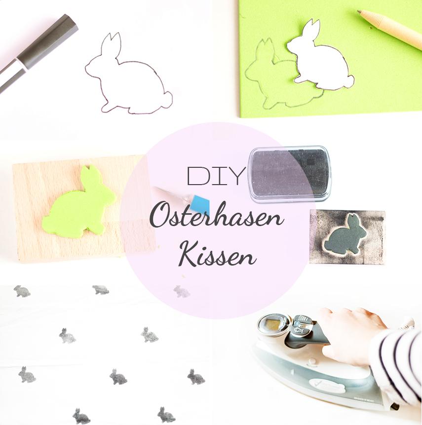 Kissen als Osterdeko DIY