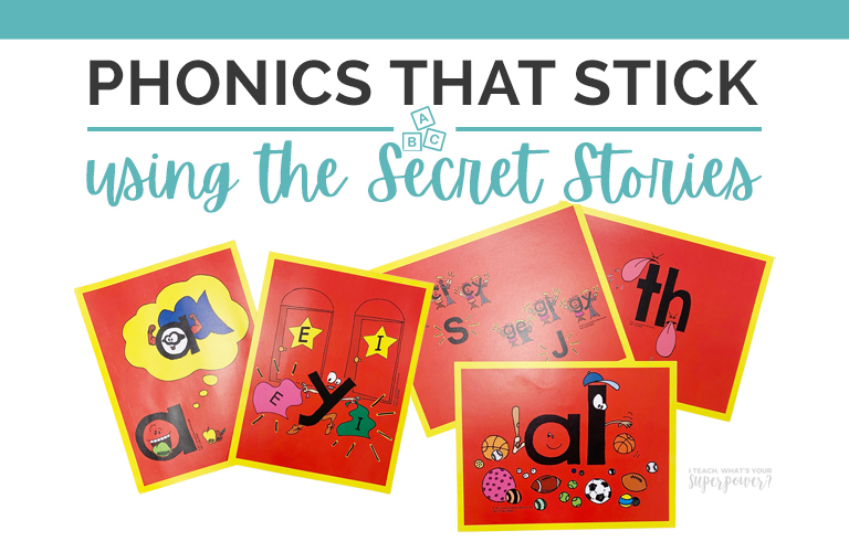 Tips for teaching with the Secret Stories to fill phonics gaps quickly!