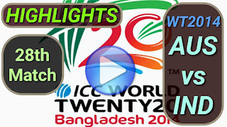 AUS vs IND 28th Match