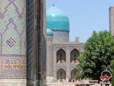 Along the way of ancient caravans on the Great Silk Road (Kyrgyzstan - Uzbekistan section)