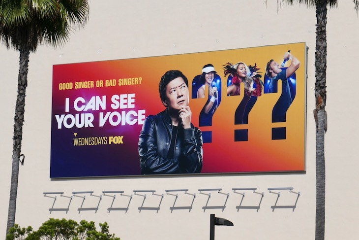 I Can See Your Voice series premiere billboard