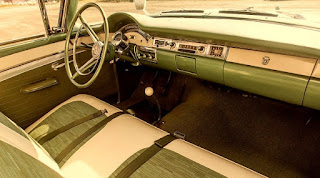 1957 Ford Fairlane 500 Dual Quad Dashboard