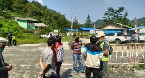 Aktivitas Peledakan Ancam Keselamatan, Warga Geruduk Proyek Kereta Cepat Indonesia-China