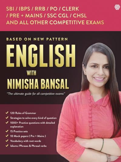निमिशा बंसल के साथ अंग्रेजी : सभी प्रतियोगी परीक्षाओं के लिए  | English With Nimisha Bansal : For All Competitive Exams