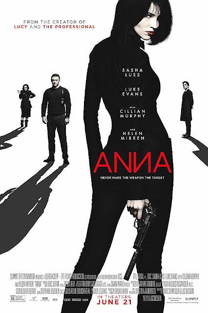 Sinopsis Film Anna (2019) - Sasha Luss, Luke Evans