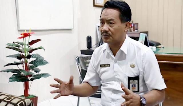 Pelaksana Tugas (Plt) Kepala Dinas Pendidikan Lumajang, Drs. Agus Salim M.Pd.