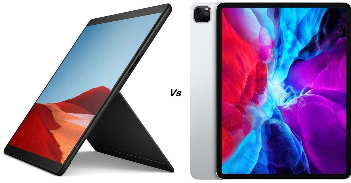 Microsoft Surface Pro X vs Apple iPad Pro 2020: Which is the Smarter Choice?