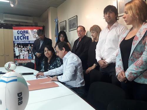 Cooperadora Asistencial brinda su apoyo al Programa Rugby en los Barrios