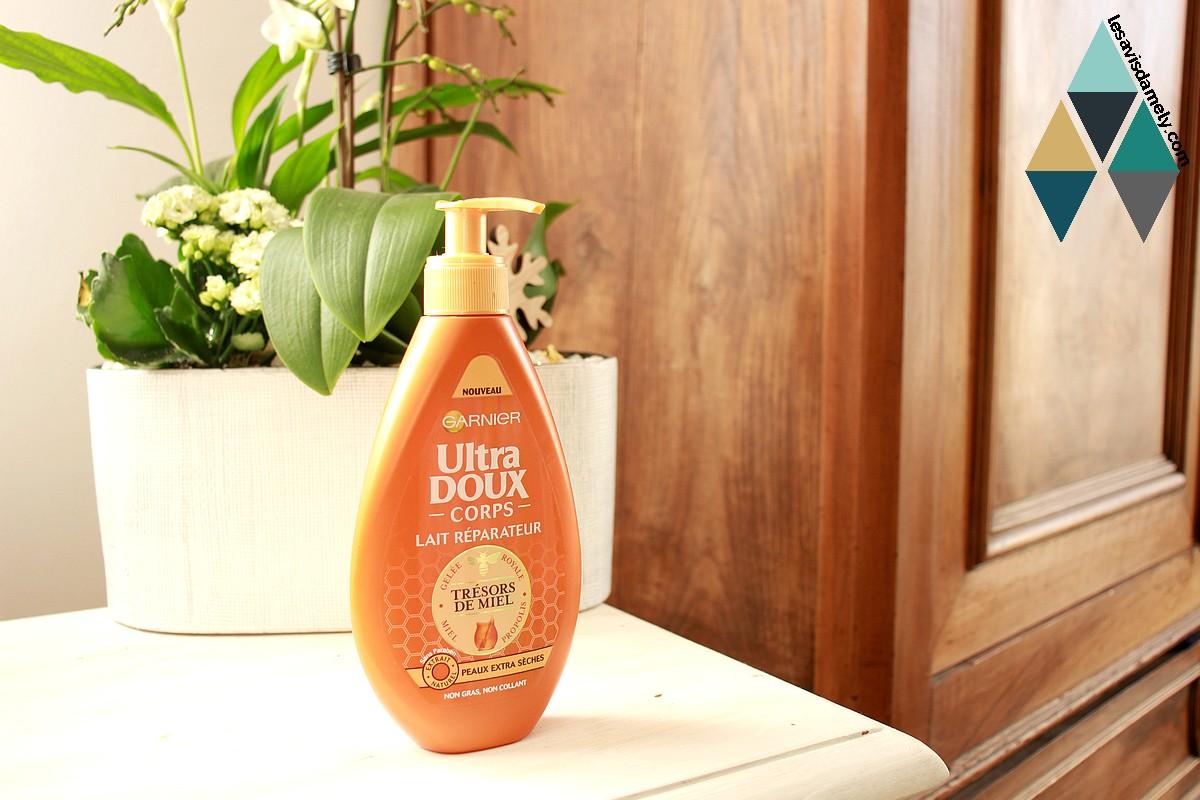 avis et test lait hydratant nourrissant peau sèche Ultra Doux