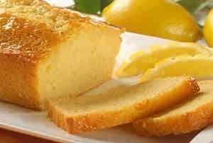 خبز بالليمون