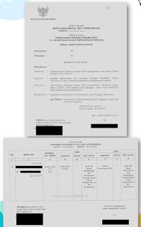 Dokumen SK Jabatan