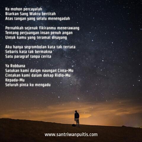 Puisi Cinta Pendek Islami Tentang Kesedihan Menyayat Hati