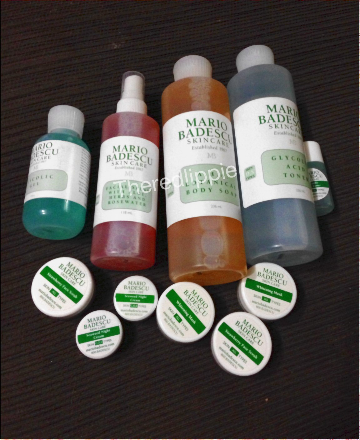 Mario Badescu Skin Care And Beauty Haul Vol 1 The Red