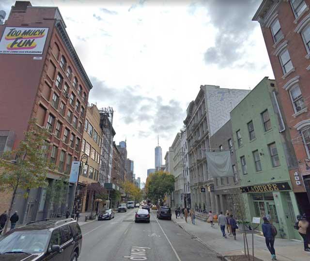 West Broadway at Spring Street, NYC randommusings.filminspector.com