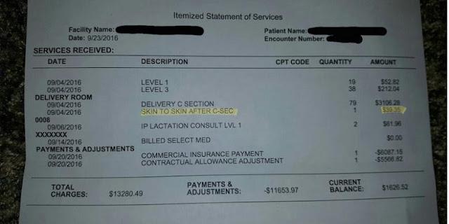 Konyol, Di Rumah Sakit ini Peluk Bayi Sendiri Harus Bayar Rp 520 Ribu