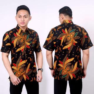 Kemeja Batik Pria No 14