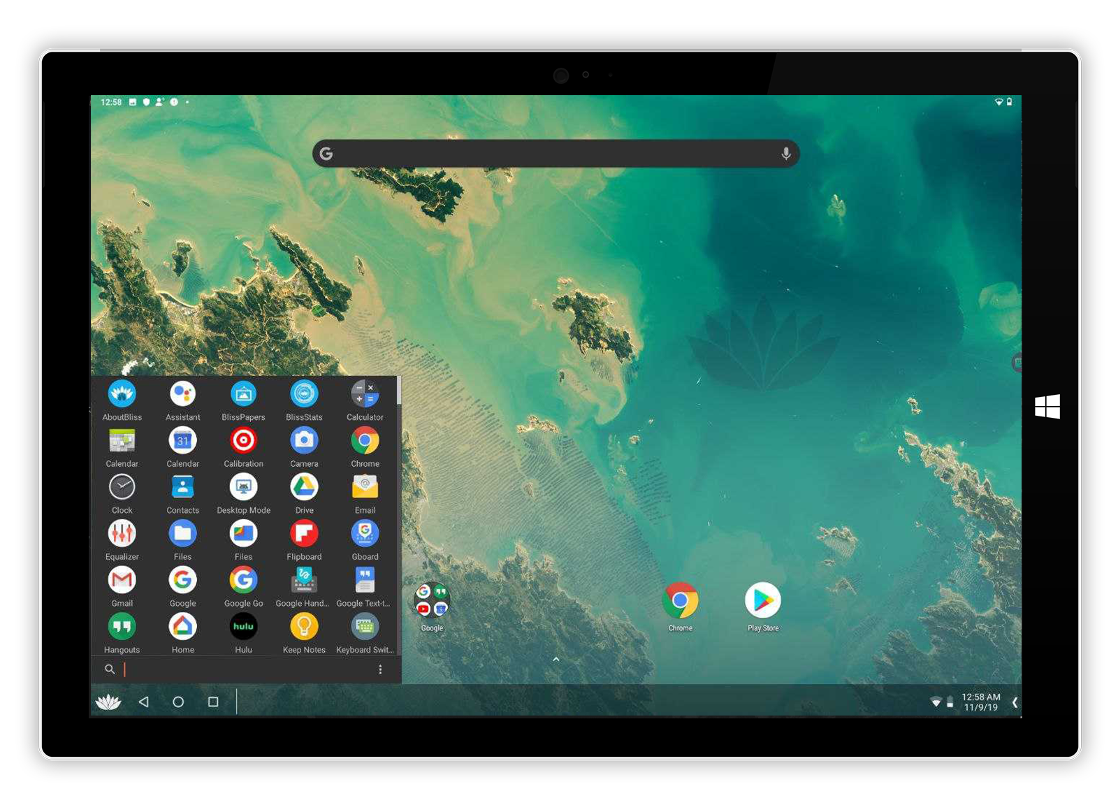 Android-10-in-windows-10